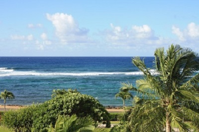Kauai - The next land in that direction is Antarctica