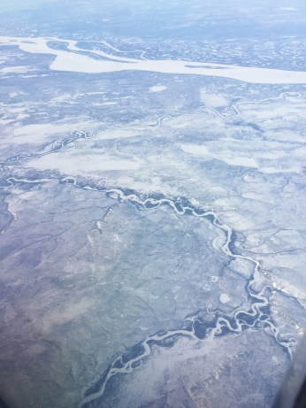 Siberia from 37,000 feet looking west